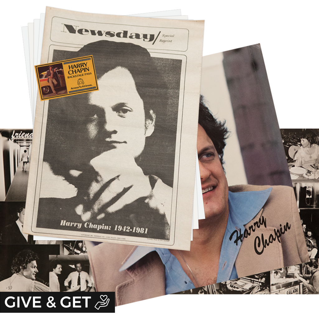 Donation: Harry Chapin Fan Pack