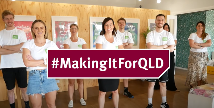 Our #MakingItForQLD story