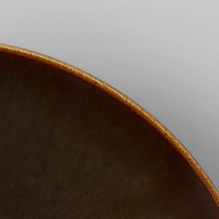 Brown Glaze Ceramic Sample
