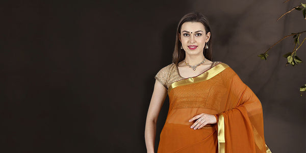 Chiffon Silk Sarees- Make a Style Statement with High Fashion Looks