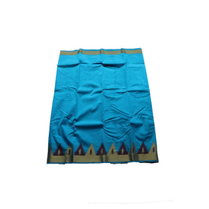 arars kanjivaram kanchipuram pattu silk saree ( 247 RM BLUE )