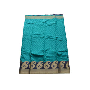 arars Women's kanchipuram kanjivaram pattu style art silk colour saree with blouse (248,safair)