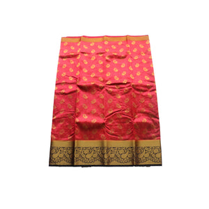 arars Art kanjivaram kanchipuram Pattu silk saree ( 251 KB STRAWBERRY )