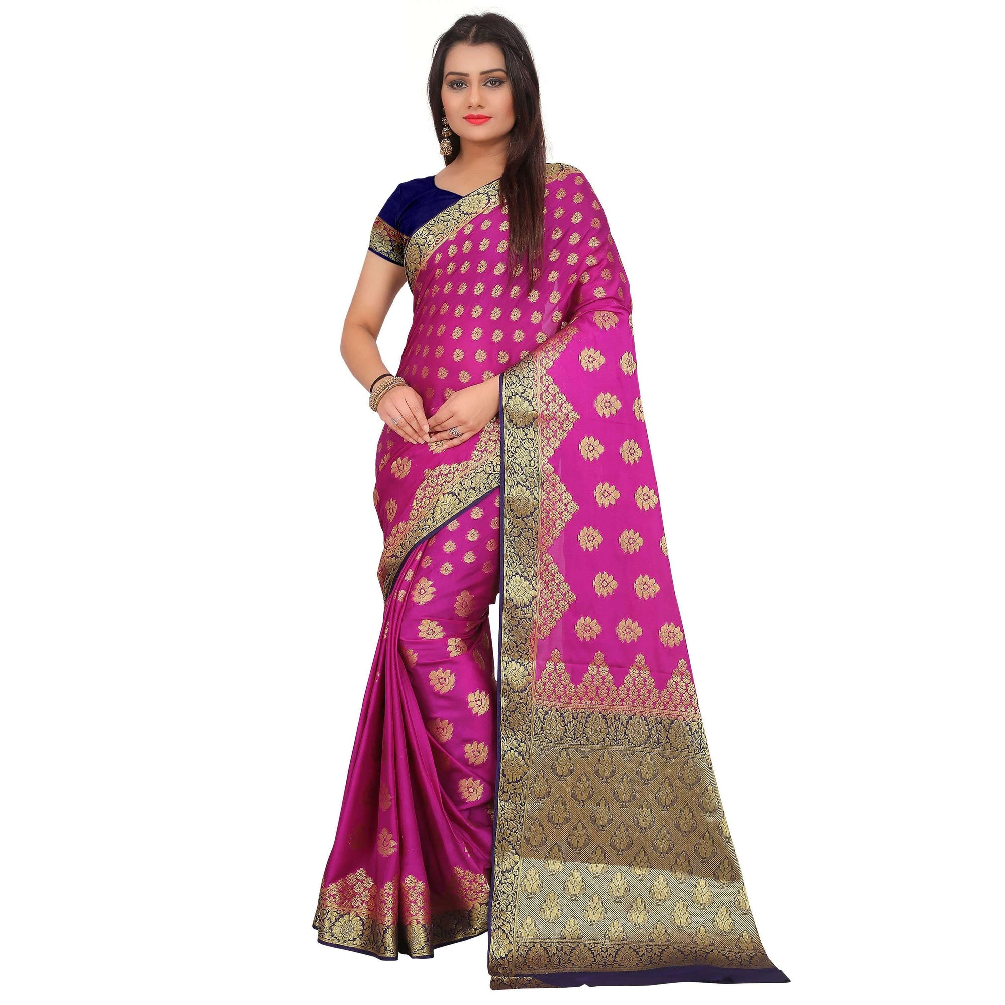 arars crepe silk saree ( 270 CB PURPLE )