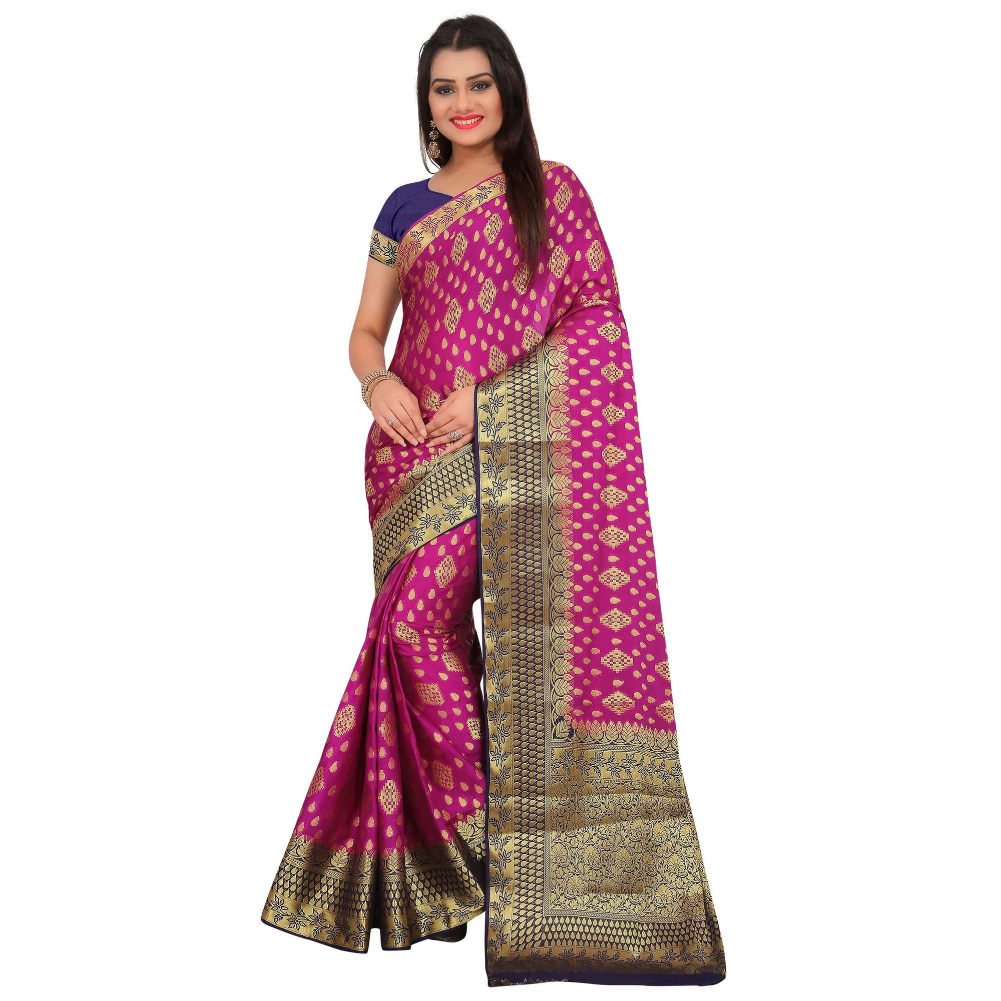 arars crepe silk saree ( 272 CB PURPLE )