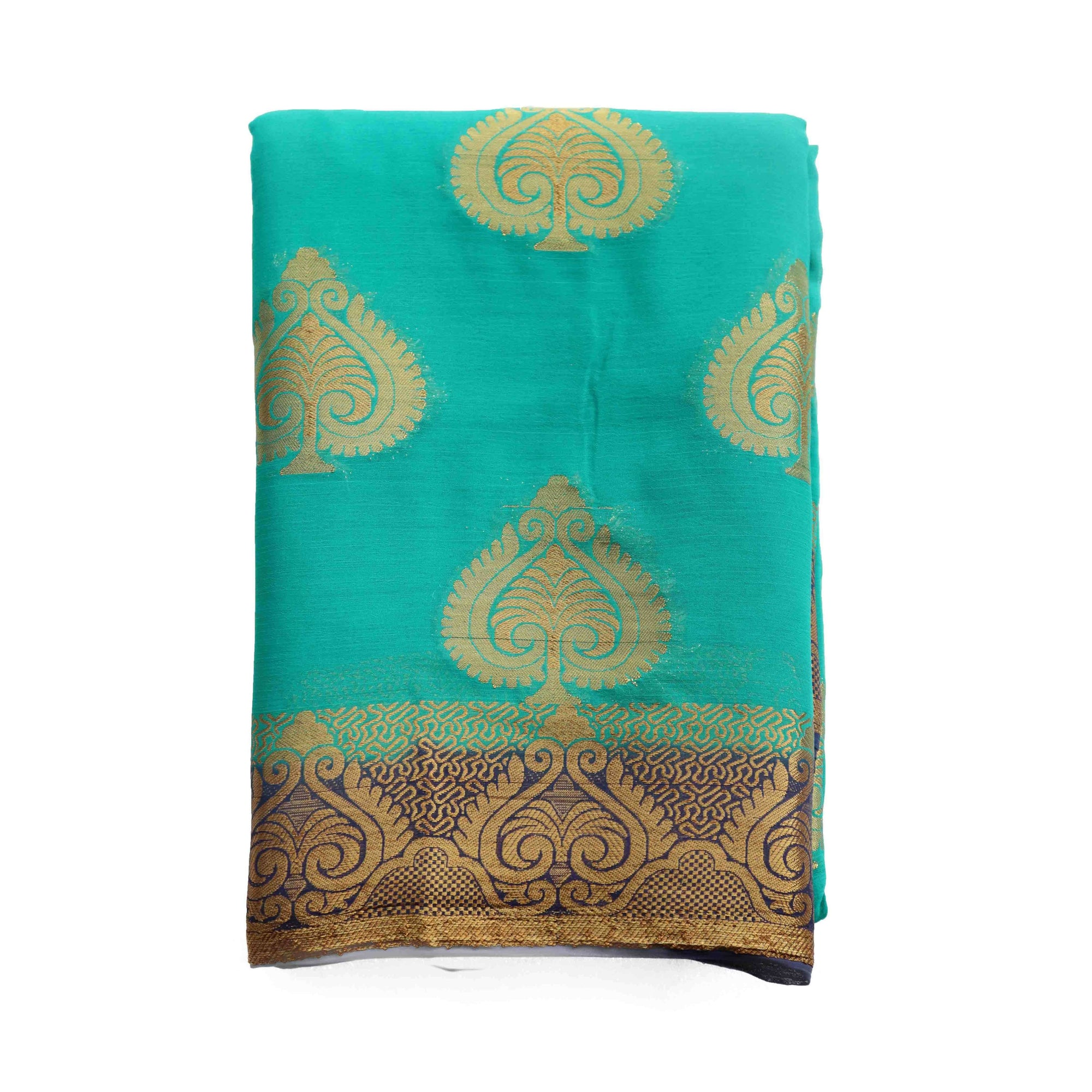 arars chiffon silk saree kanjivaram pattu style, wedding collection colour safair (276)
