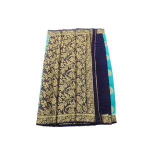 Arars Women's Kanchipuram Kanjivaram Pattu Style Chiffon  Silk Saree With Blouse (277 SF SAFAIR )