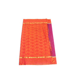arars Women's kanchipuram kanjivaram pattu style art silk saree with blouse (411,magenta-2)