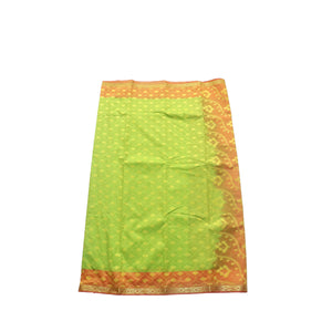 arars Women's kanchipuram kanjivaram pattu style art silk saree with blouse (412,parrot green-1)