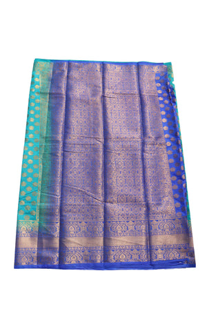 arars Women's Kanchipuram Pattu banarasi Silk Saree With Blouse (516_safair_royal )