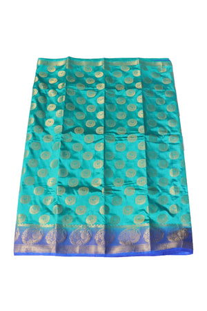 arars Women's Kanchipuram Pattu Banarasi Silk Saree With Blouse (537_safair_royal )