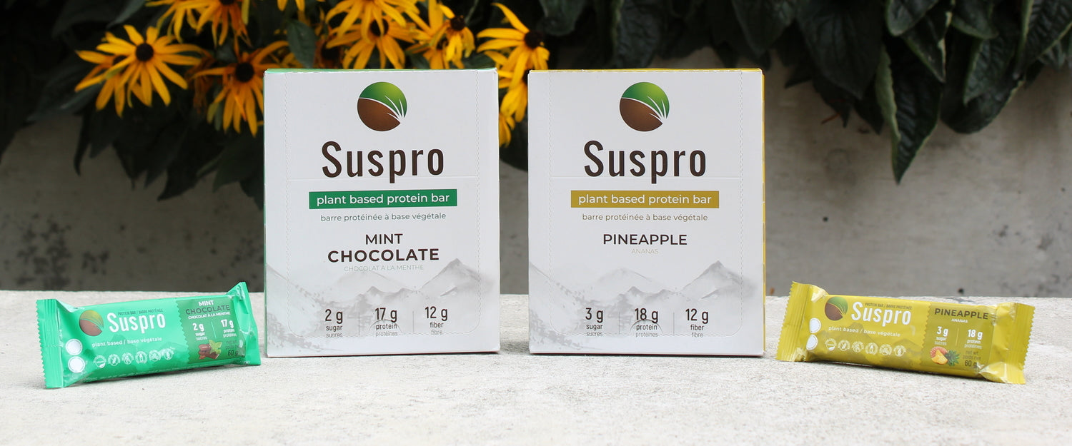 Suspro High Protein Bars