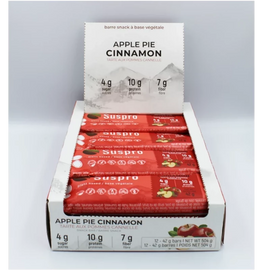 Apple Pie Cinnamon Snack Protein Bar (12 bars)