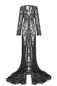 Spellcaster Lace Maxi Dress Cardigan