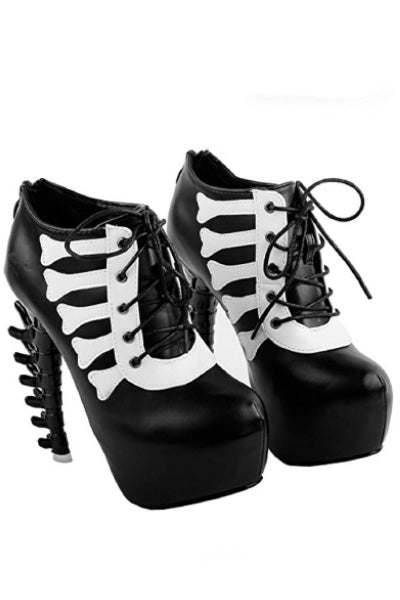 Bad to the Bone Platform Boots