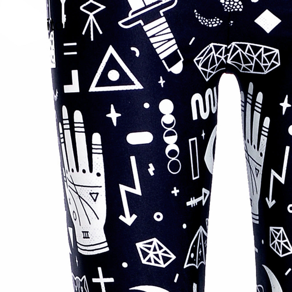 Brujeria Leggings