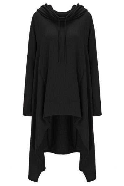 Modern Witch Hooded Tunic Cloak