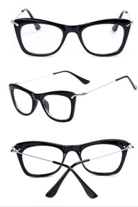 Nerdy Witch Wide Cat Eye Glasses