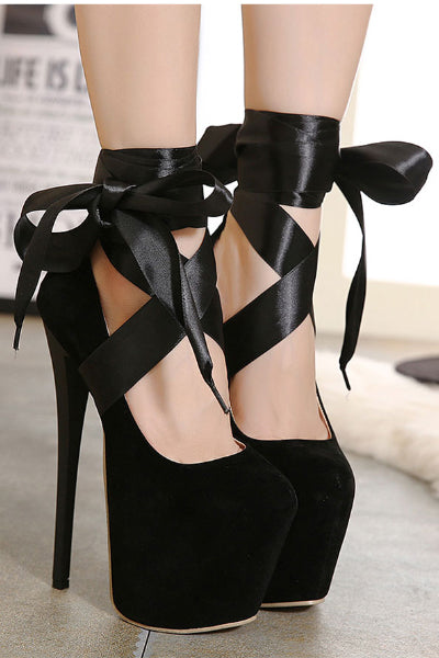Killer Heels in Red or Black
