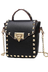 Messenger of Chaos Studded Handbag