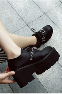 Metal Witch Buckle Creepers