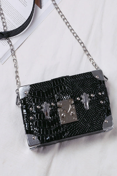 Pandora's Box Cross Over Purse (Black or Red)