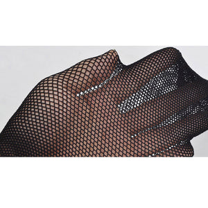 Narrow Wide or Super Wide Fishnet Mesh Stockings