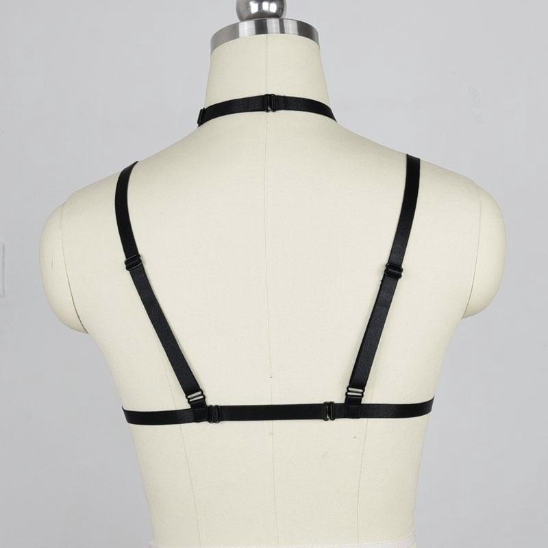 Sweet Sin Caged Harness Bra