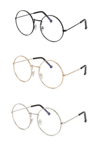 Orb Round Clear Lens Glasses