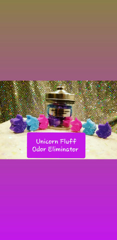 Unicorn Fluff Odor Eliminator Wax Melts - Unicorn Glitter Sharts
