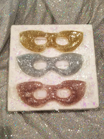 Glitter Eye Mask - Unicorn Glitter Sharts