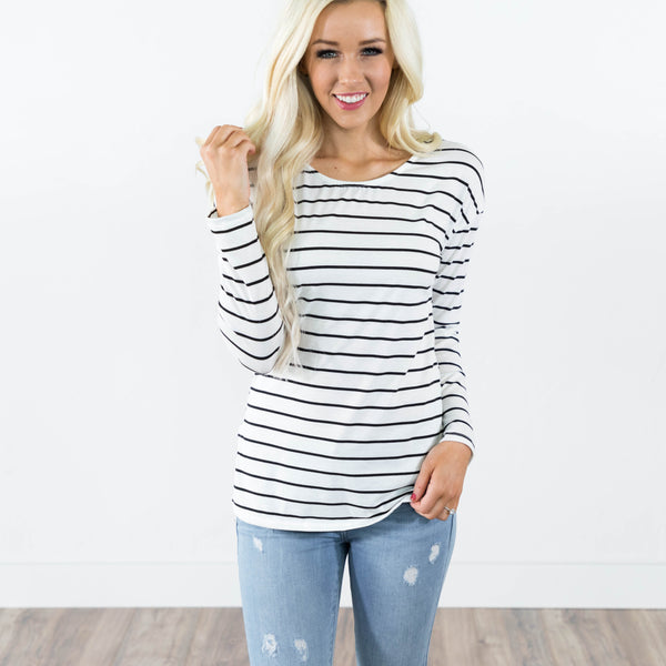 Rosalind Stripe Top