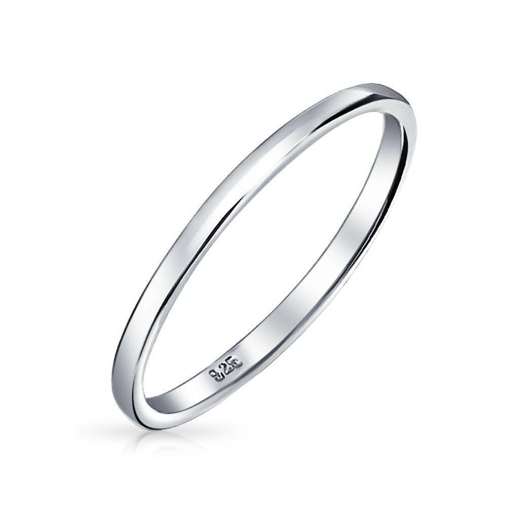 rock products plated sara gold simple n band sterling rose ring bands silver