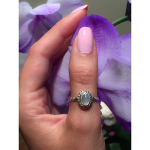 Genuine Moonstone Ring