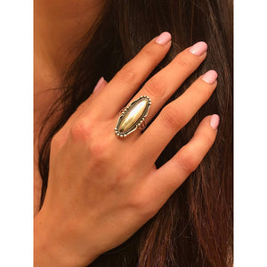 Large Silver Statement Ring-Silver Boho Ring,Knuckle ring
