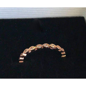 Rose Gold Eternity Band-Wedding Band