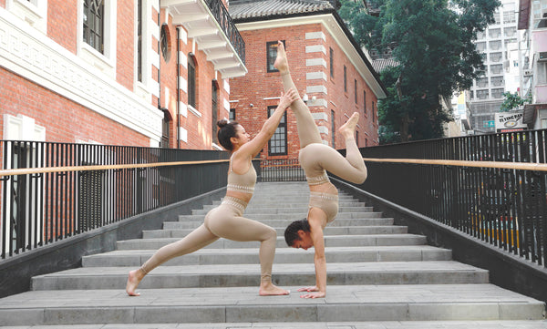 Muse of the Month: Agnes and Faris, the Yoga Twins