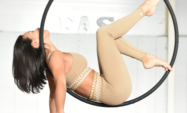 Aerial Hoop Sequences for Beginners