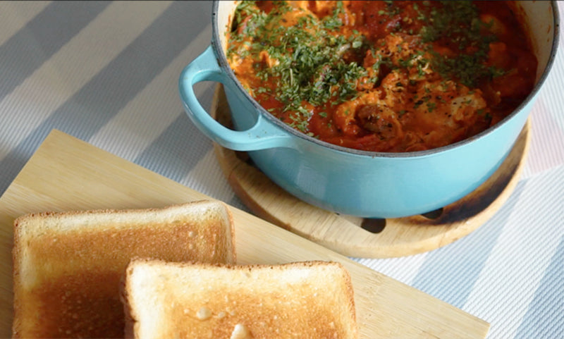 Healthy & Delicious Breakfast Recipe with Eggs - Shakshuka