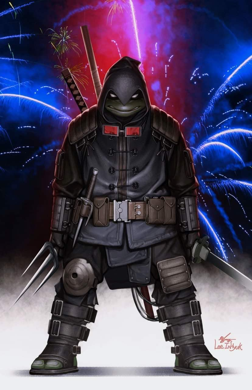 The Last Ronin #1 InHyuk Lee 4th of July Variant