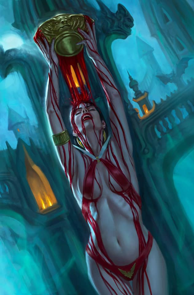 Vampirella: Trial of the Soul #1 Aaron Bartling Exclusive