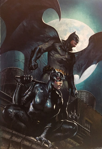 Batman vs Catwoman #1 Dell'Otto Variant