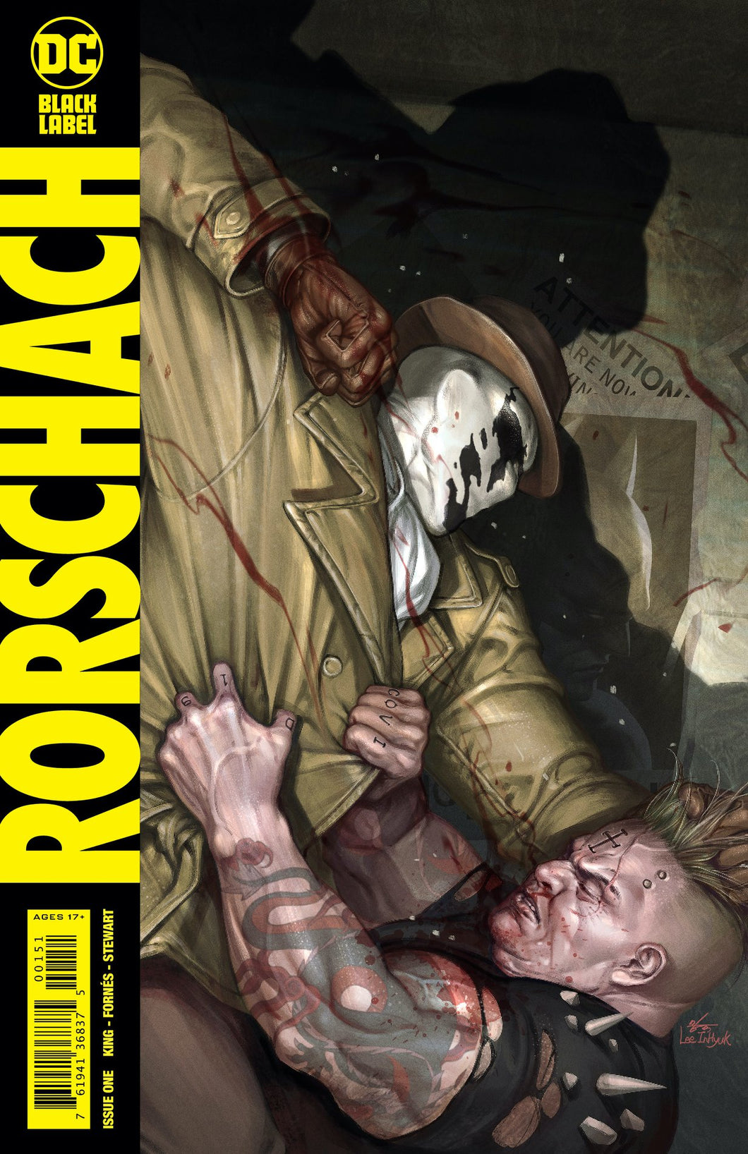 Rorschach #1 Black Label InHyuk Lee Exclusive
