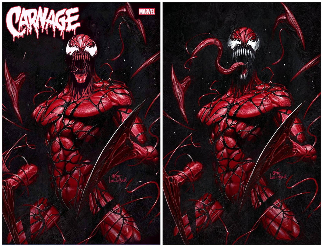 Carnage: Black White & Blood #1 Inhyuk Lee Virgin Exclusive