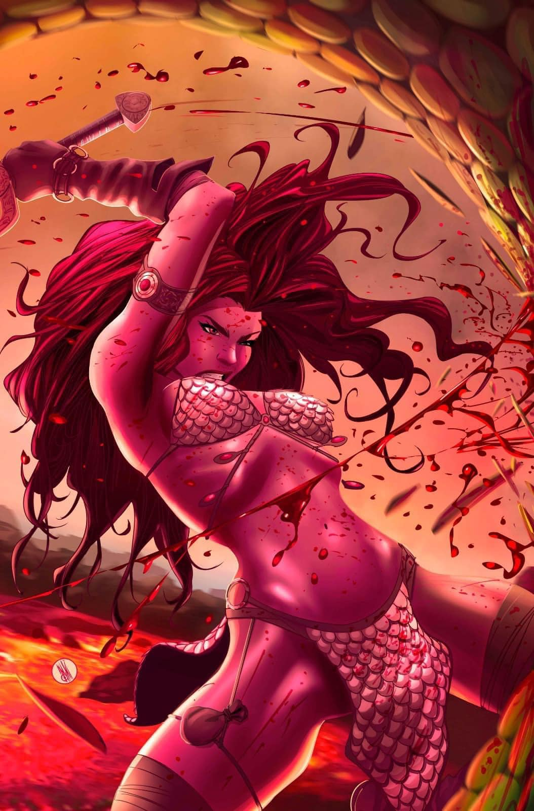 Invincible Red Sonja #1 Inaki Miranda Exclusive