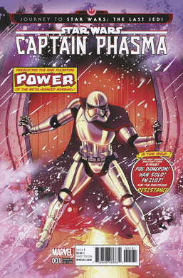 Captain Phasma #1 1:50 Homage Cover