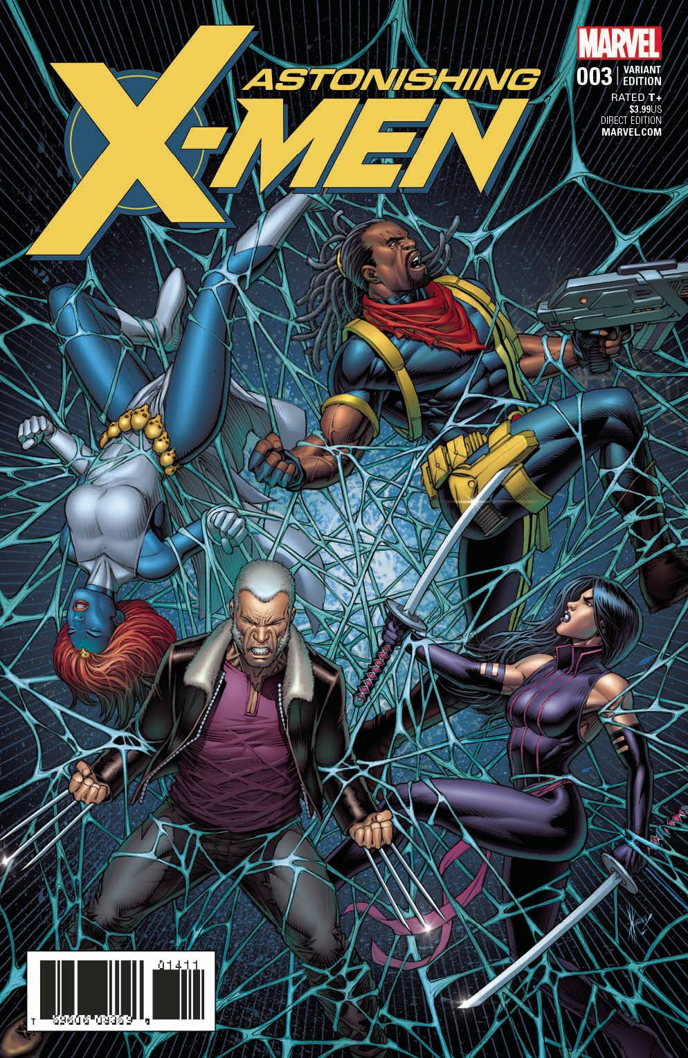 Astonishing X-Men #3 1:25 Keown Variant