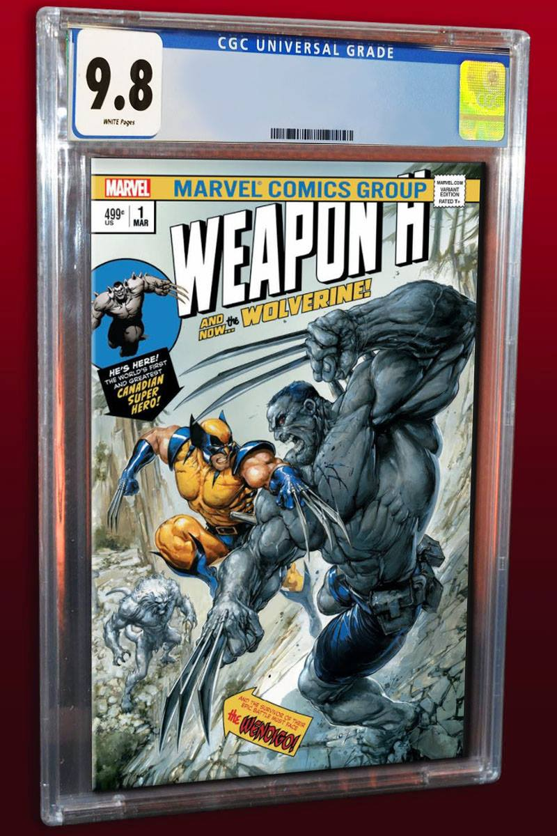 Weapon H #1 Clayton Crain Homage Variant