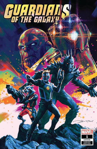 Guardians of the Galaxy #1 Briclot Exclusive - Limited to 3000