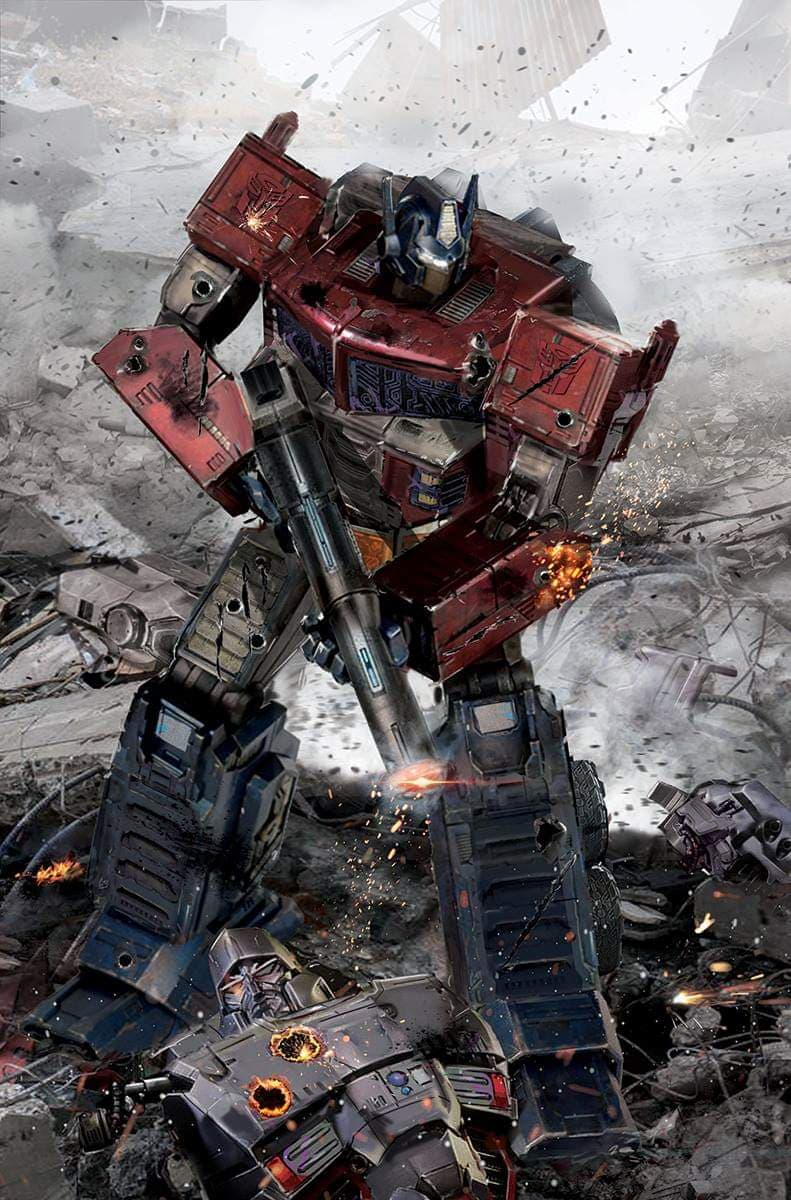 Transformers #1 Gallagher Virgin Variant